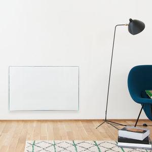 inertia radiator / glass / contemporary / radiant panel