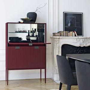 contemporary bar cabinet