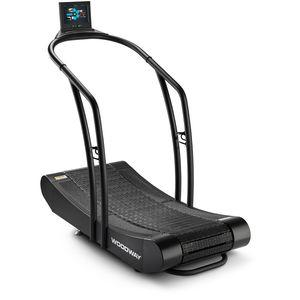 medical treadmill / manual / curved