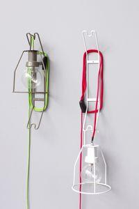 portable lamp / contemporary / metal / outdoor