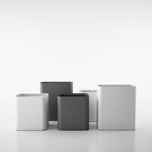stainless steel waste paper basket