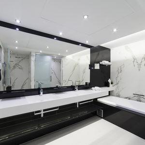 bathroom prefabricated module / for hotel rooms
