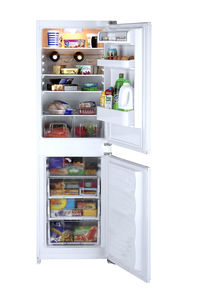 bottom freezer refrigerator-freezer / home / upright / white