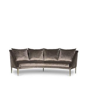 Groovy Semicircular Sofa All Architecture And Design Machost Co Dining Chair Design Ideas Machostcouk