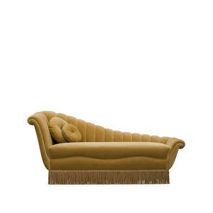 traditional daybed / velvet / indoor