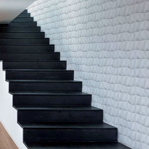 plaster wall cladding / interior / 3D / decorative