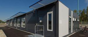 prefab building / modular / galvanized steel / steel framing