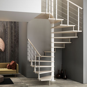 square spiral staircase