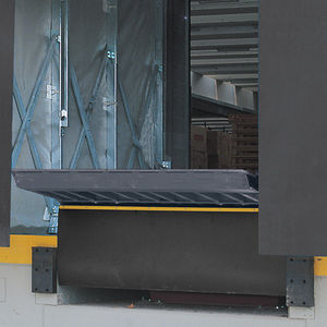 galvanized steel access ramp