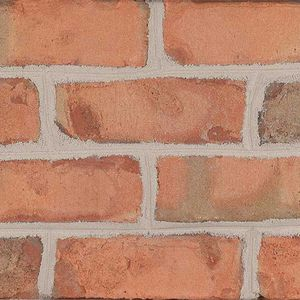 solid brick / for facade / white / pink