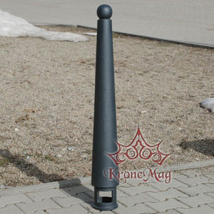security bollard / cast iron / for parking lots