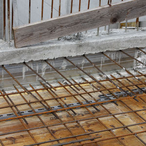 reinforced concrete rebar connection system