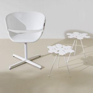 original design side table / ABS / Corian® / commercial