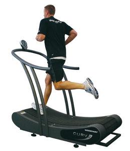 curved treadmill / manual
