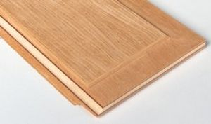 construction plywood panel / wood / for doors