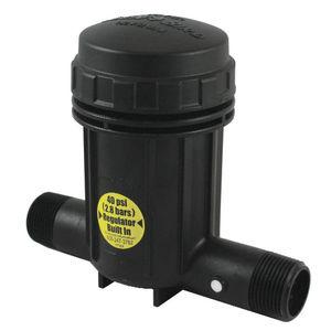 cartridge irrigation filter / plastic / stainless steel