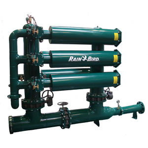 screen irrigation filter / stainless steel / self-cleaning