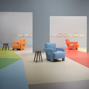 linoleum flooring / tertiary / tile / roll