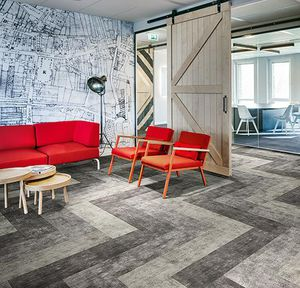 textile flooring / tertiary / strip / textured