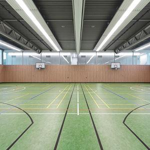 linoleum sports flooring