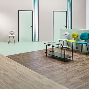 vinyl flooring / interior / high-resistance / high-performance
