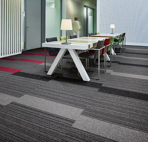 tufted carpet / polyamide / tertiary / tile