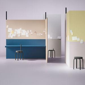 linoleum wallcovering / tertiary / smooth / wallpaper look