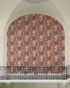 contemporary wallpaper / patterned / non-woven / hand-painted