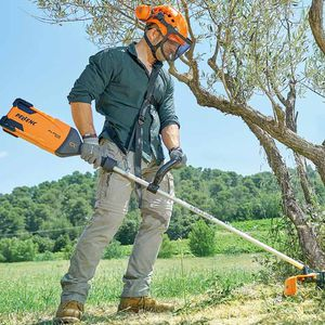battery-powered brush cutter / portable