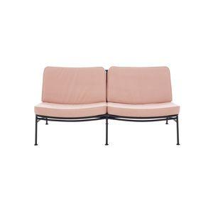 contemporary sofa / outdoor / fabric / aluminium