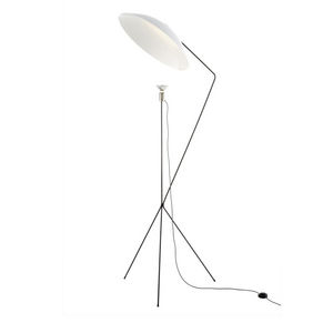floor-standing lamp / contemporary / plastic / lacquered steel