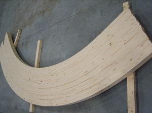 glue-laminated wood beam