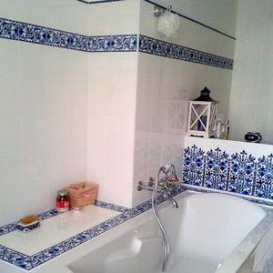 ceramic border tile / wall-mounted