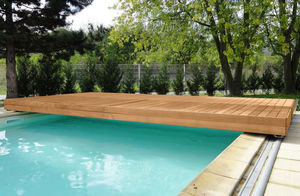 Security Sliding Deck Pool Cover