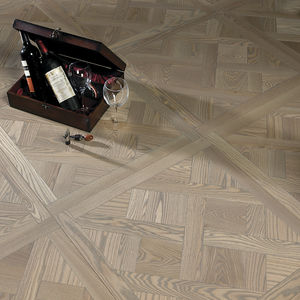 engineered parquet floor / glued / ash / oiled