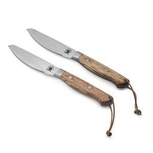 steak knife with metal blade