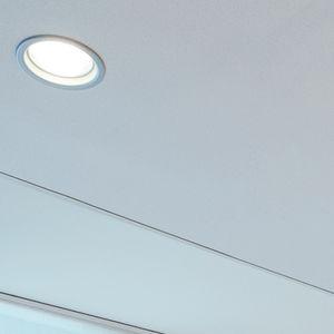 recessed ceiling downlight / LED / round / square