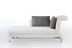 contemporary daybed / fabric / indoor / adjustable backrest