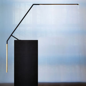 table lamp / contemporary / brass / extruded aluminum
