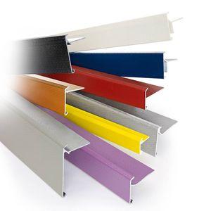 PVC roof edge
