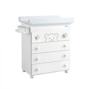 melamine changing table