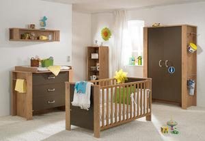 wooden children's bedroom furniture set