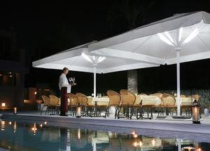 contract parasol / acrylic / PVC / polyester