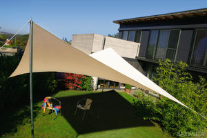 waterproof shade sail / custom / commercial / triangular
