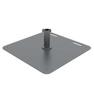 galvanized steel patio umbrella base