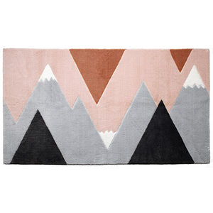 contemporary rug / geometric / PES / rectangular