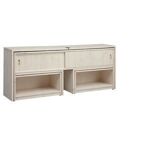 contemporary hi-fi cabinet / pine / lowboard / child's