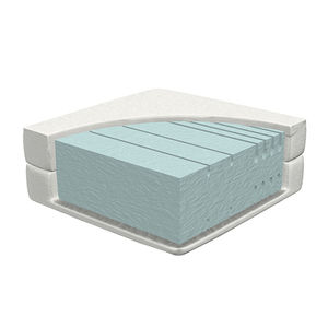 single mattress / foam / 90x200 cm / with washable removable cover
