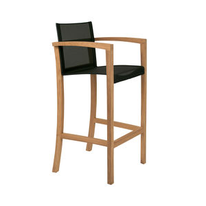 contemporary bar chair / with footrest / with armrests / Batyline®