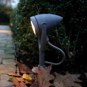 floor spotlight / garden / LED / round